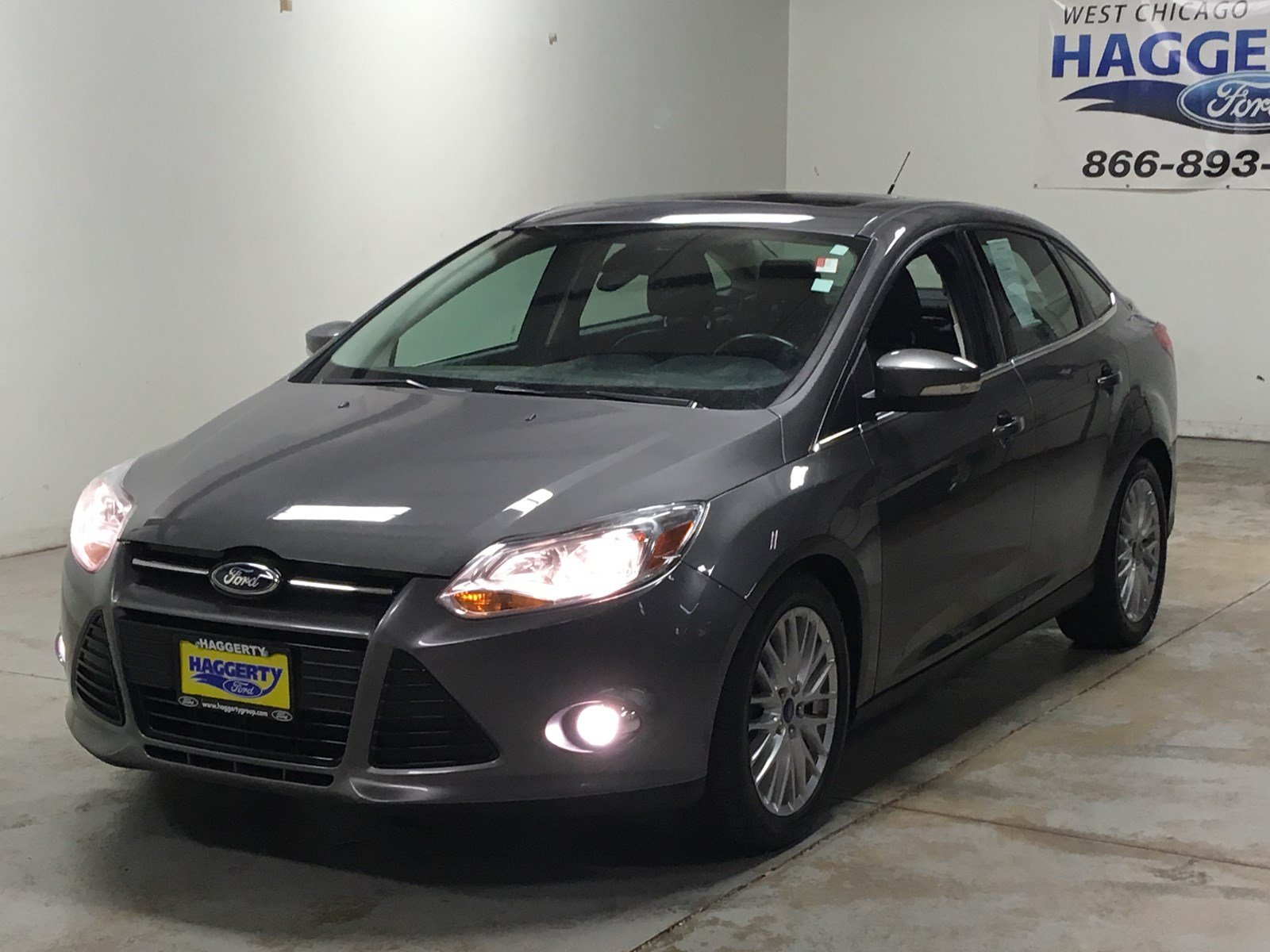 Pre owned 2012 ford focus sel 302a