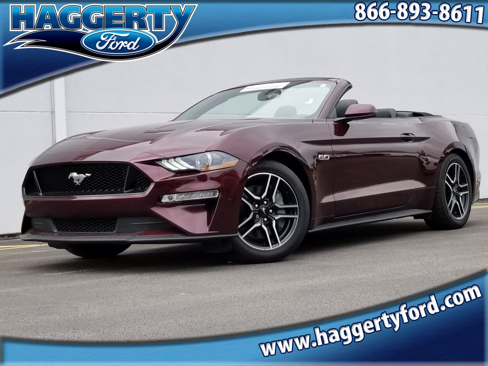Certified pre owned 2018 ford mustang gt premium