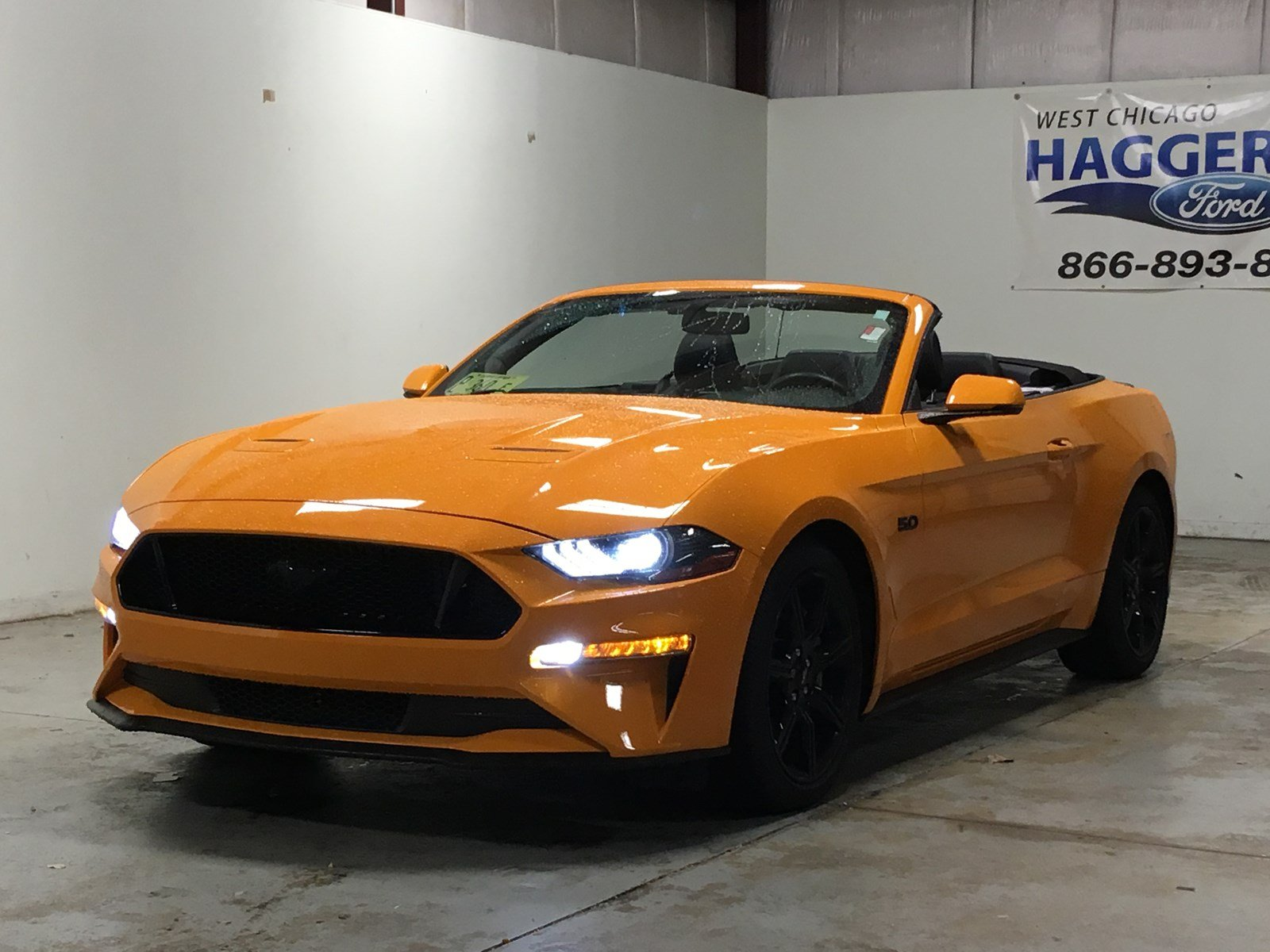 Certified pre owned 2018 ford mustang gt premium 401a