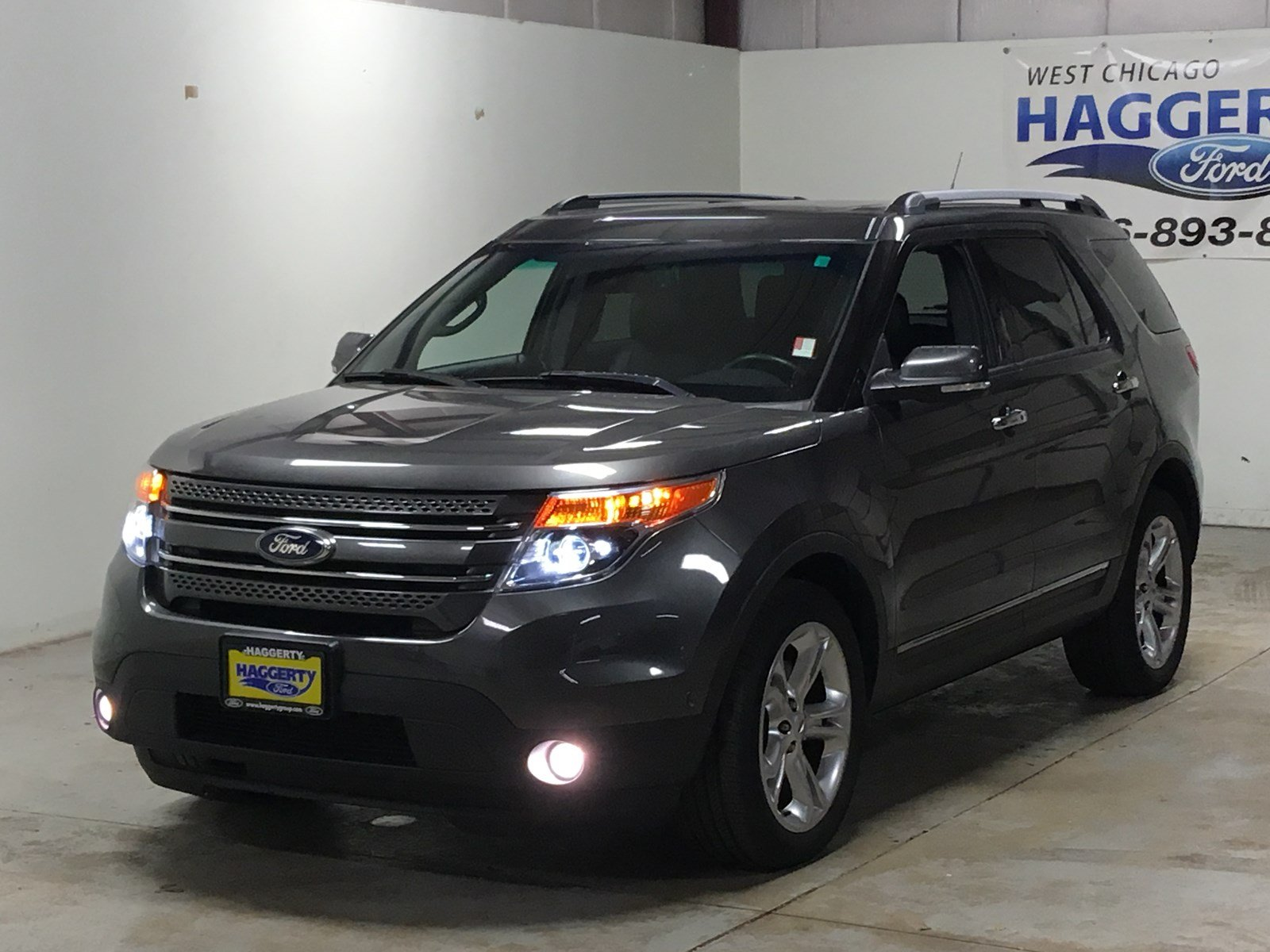 Pre owned 2015 ford explorer limited 4wd 302a