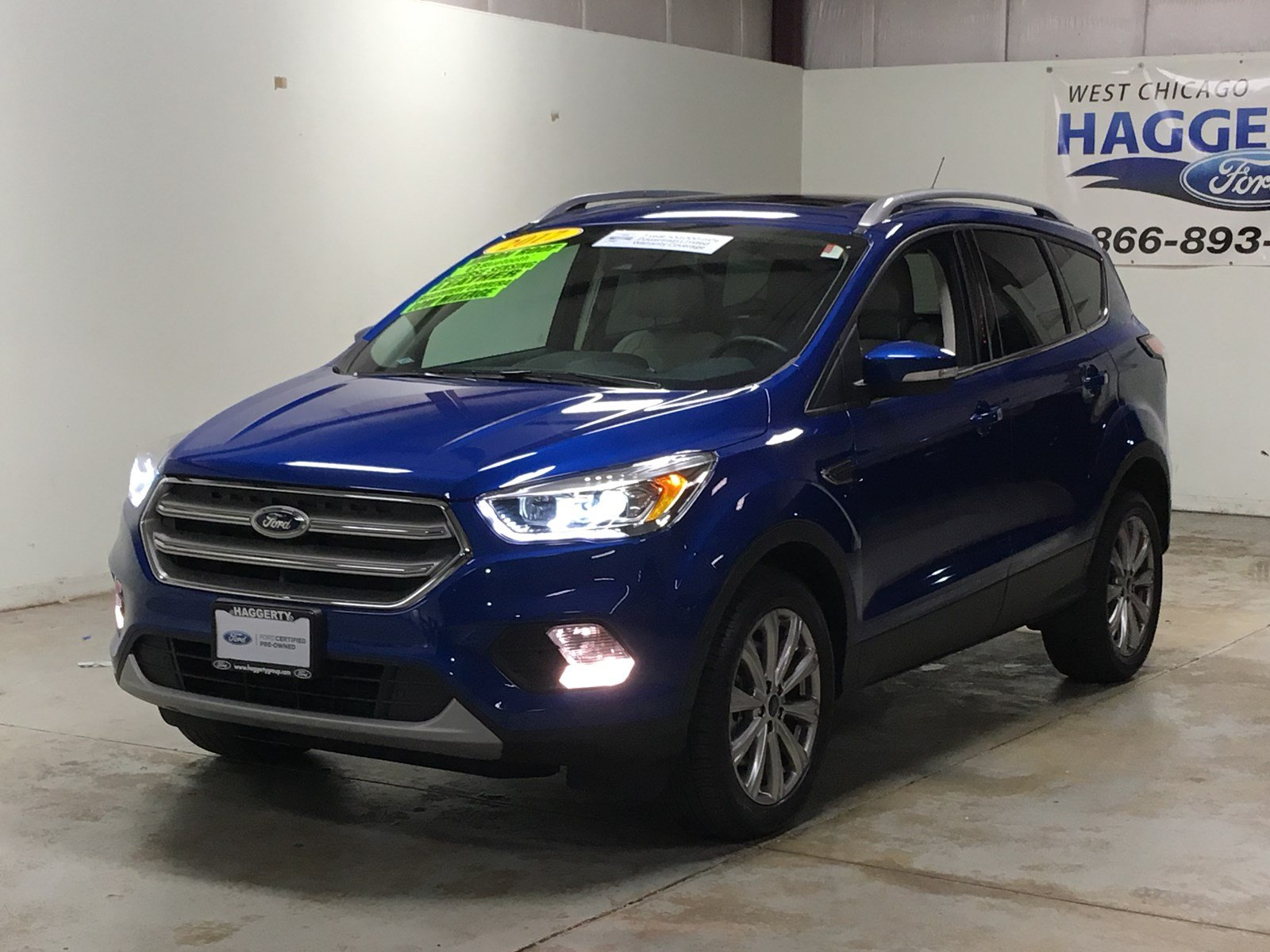 Certified pre owned 2017 ford escape titanium 4wd 301a