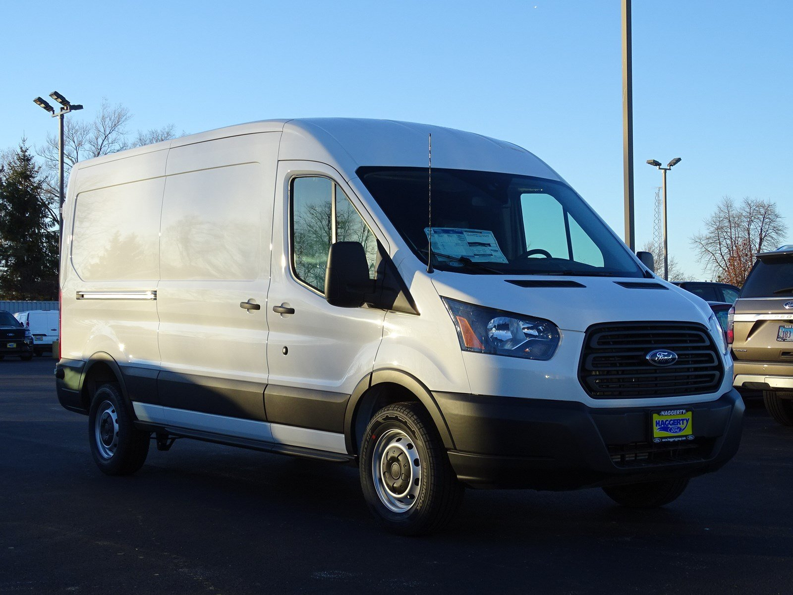ford transit van   full size cargo van  west chicago  haggerty ford