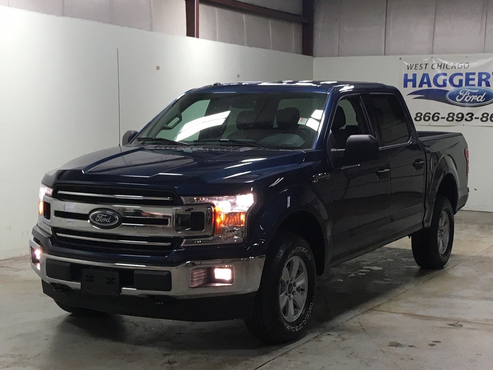 Pre owned 2018 ford f 150 xlt 4x4 crew cab ecoboost
