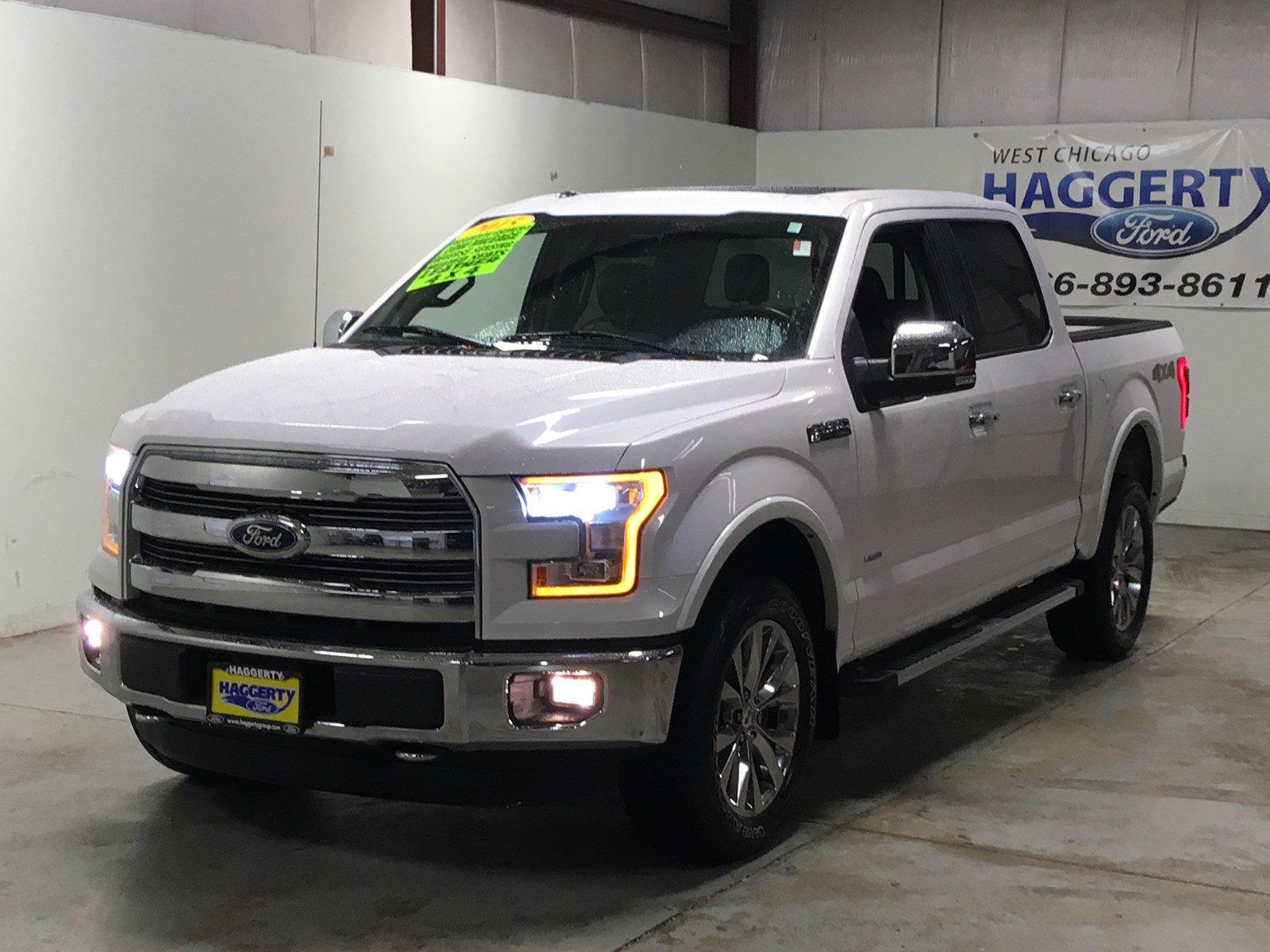 Pre owned 2015 ford f 150 lariat 4wd crew cab
