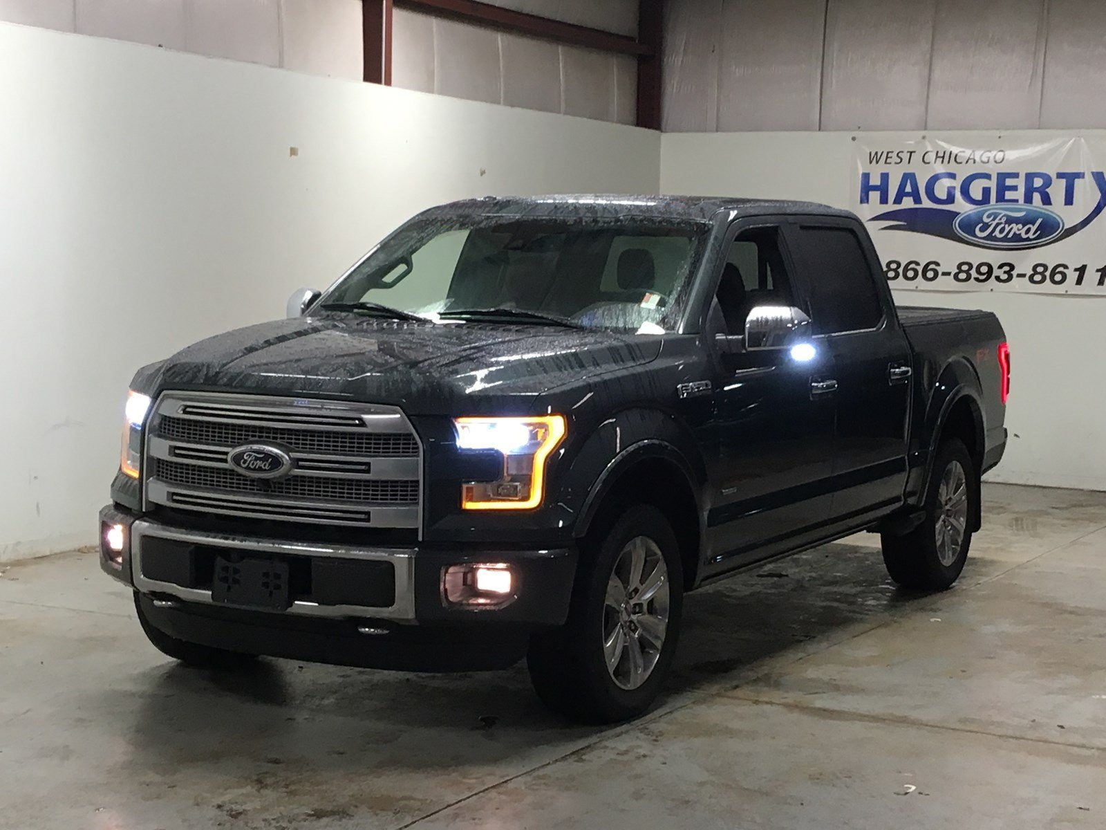 Pre-Owned 2015 Ford F-150 Platinum 701A Ecoboost Crew