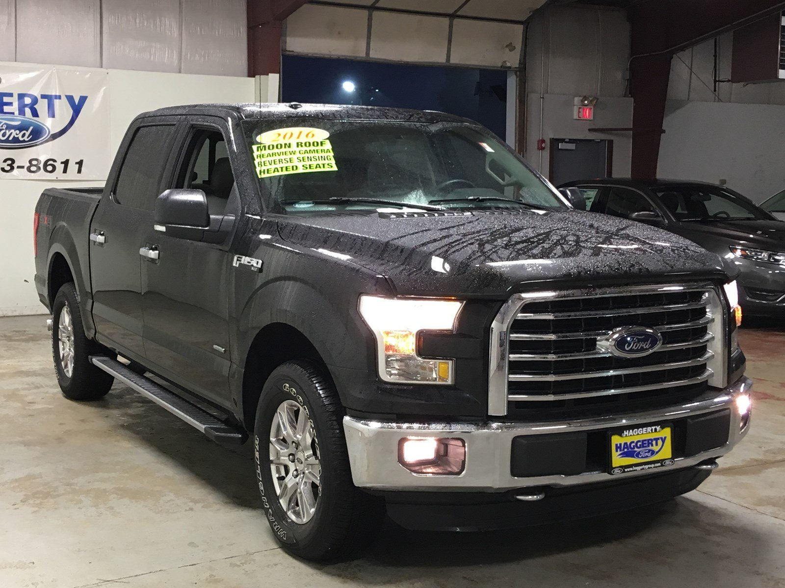 Certified Pre-Owned 2016 Ford F-150 XLT 302A Crew Cab Crew ...