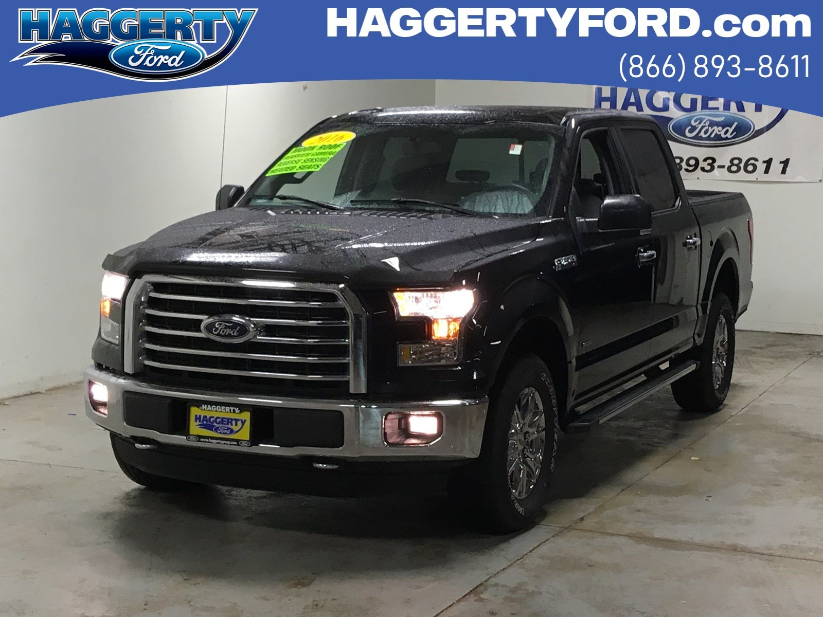 Certified Pre-Owned 2016 Ford F-150 XLT 302A Crew Cab