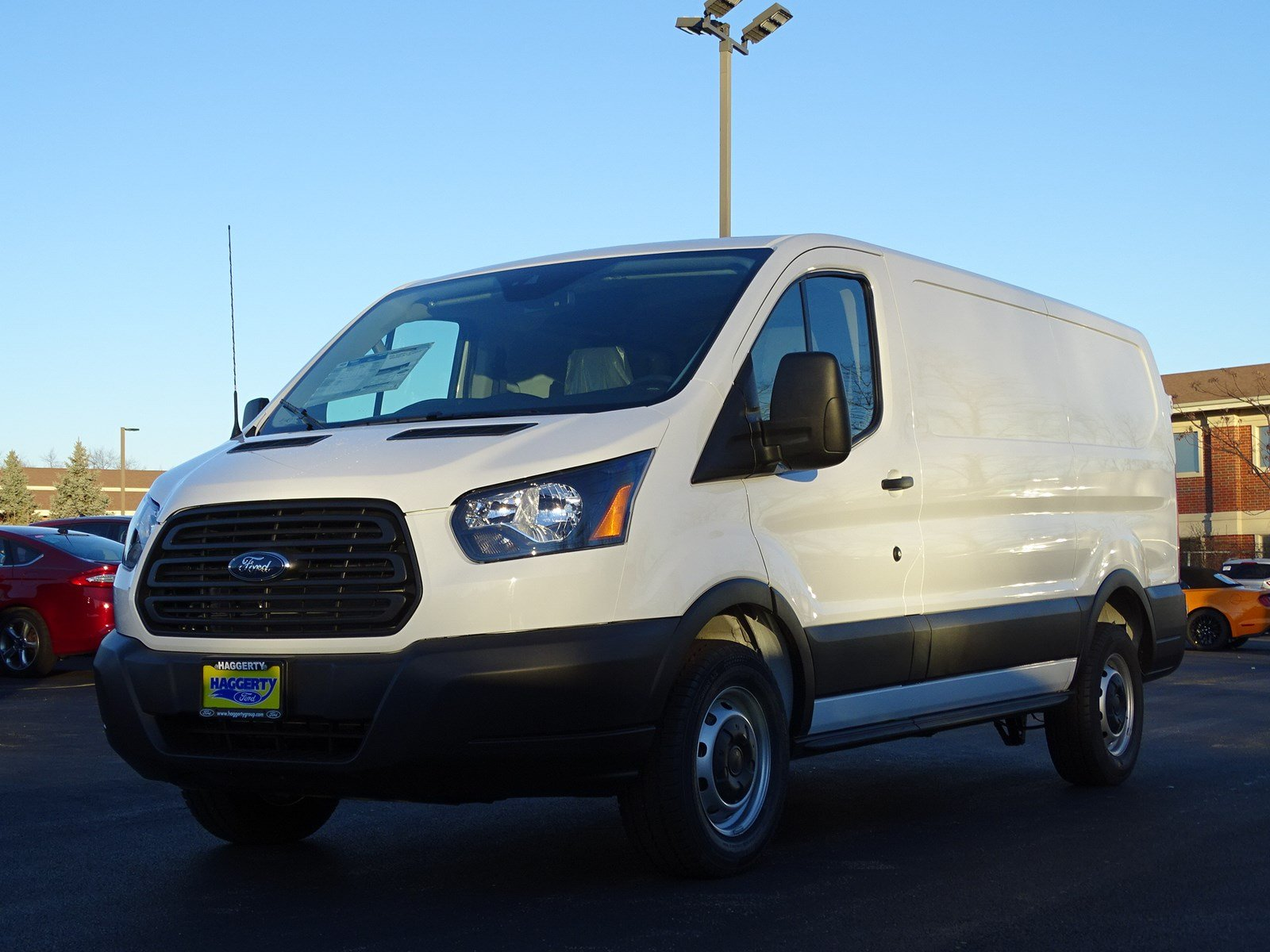 ford transit van  lr mini van cargo  west chicago  haggerty ford