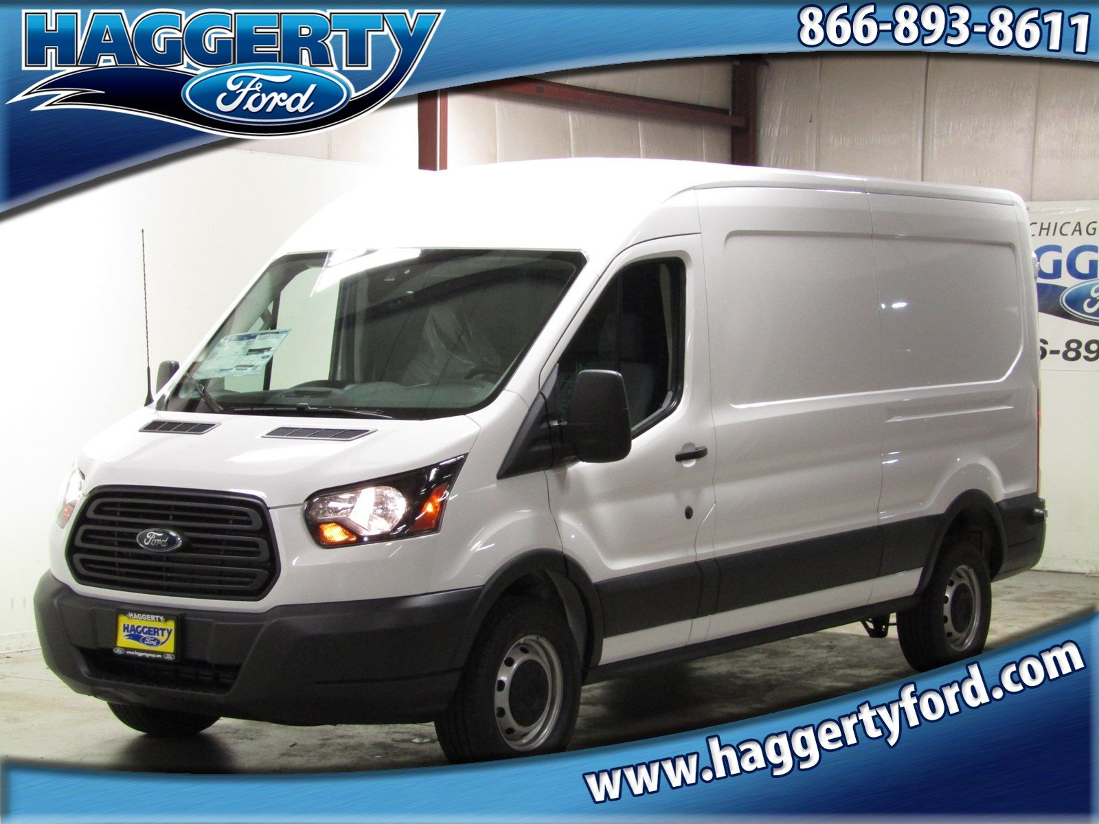 d356417e84 New 2018 Ford Transit Van 250 MR Cargo Van Full-size Cargo Van in ...