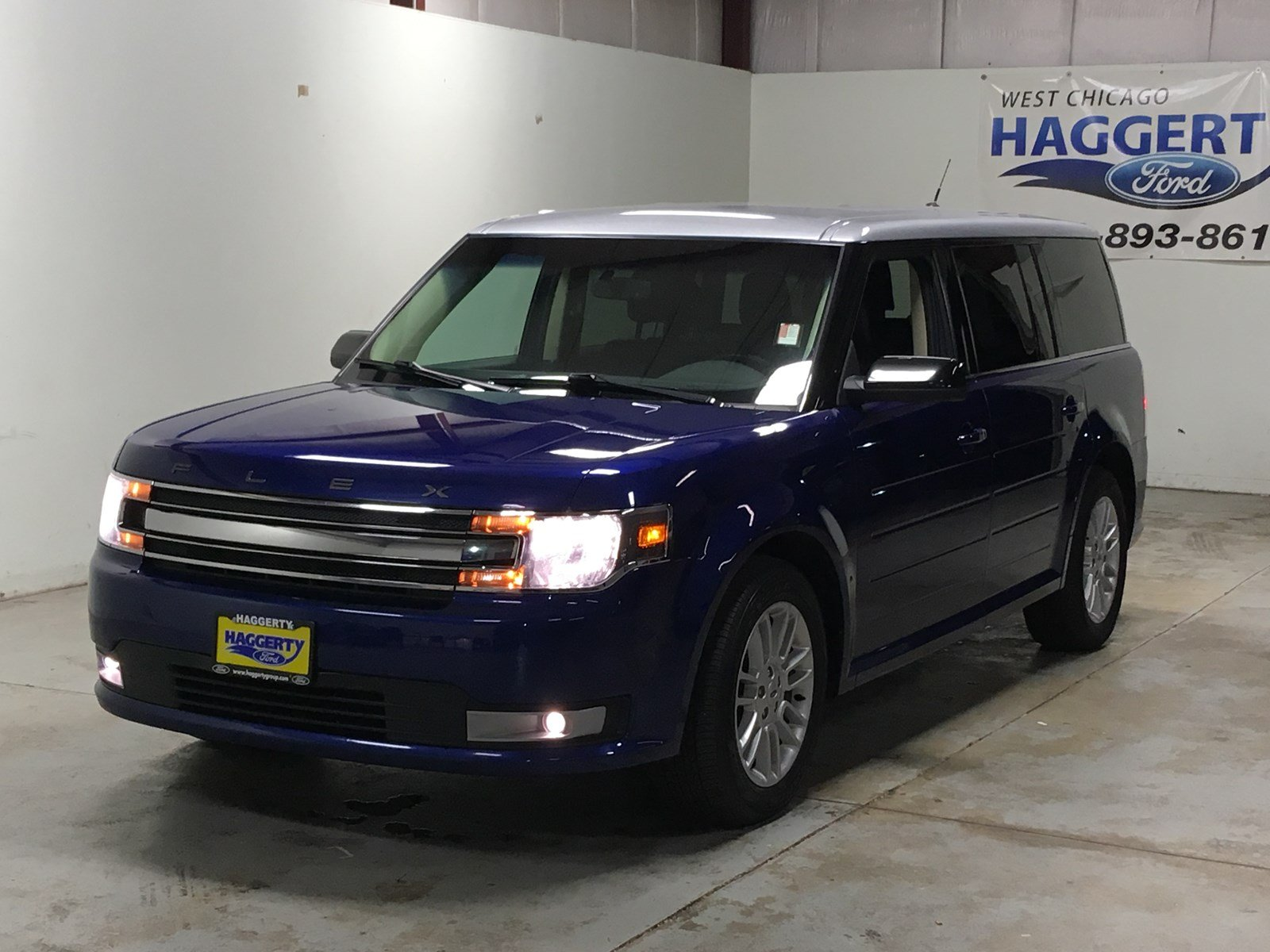 Pre owned 2014 ford flex sel awd