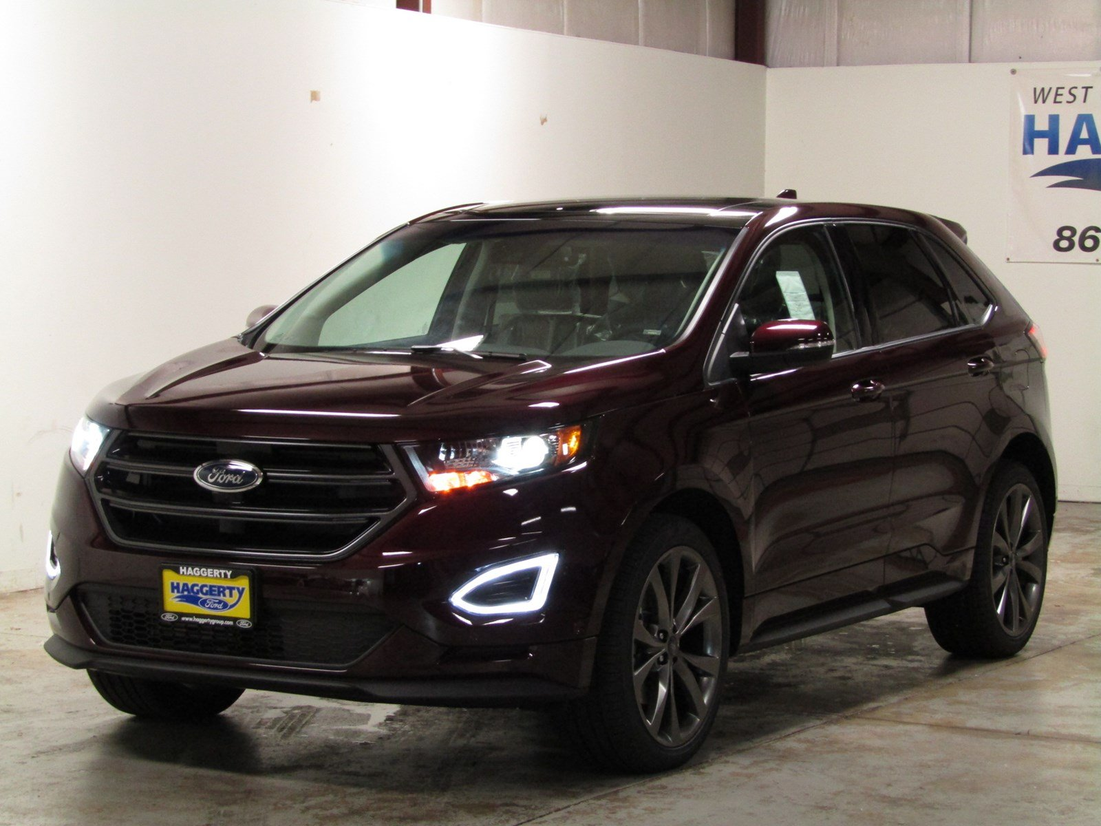 pre owned  ford edge sport suv  west chicago  haggerty ford