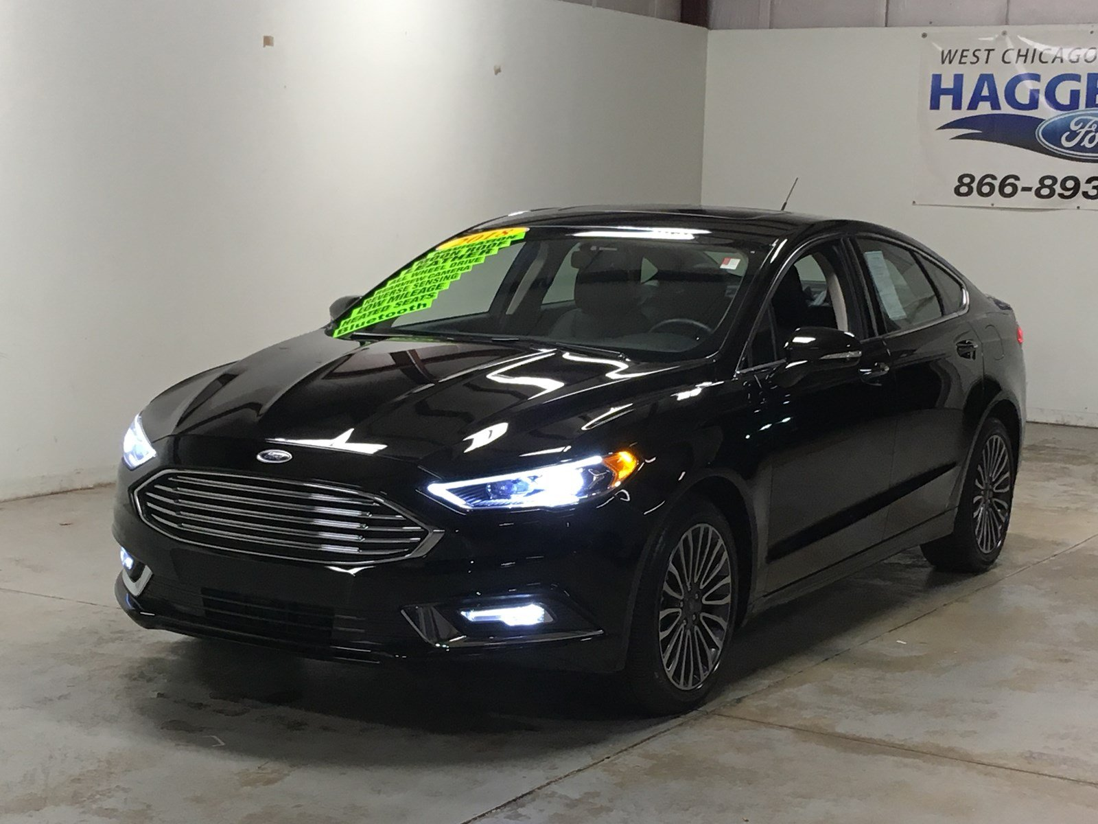 Certified pre owned 2018 ford fusion titanium awd