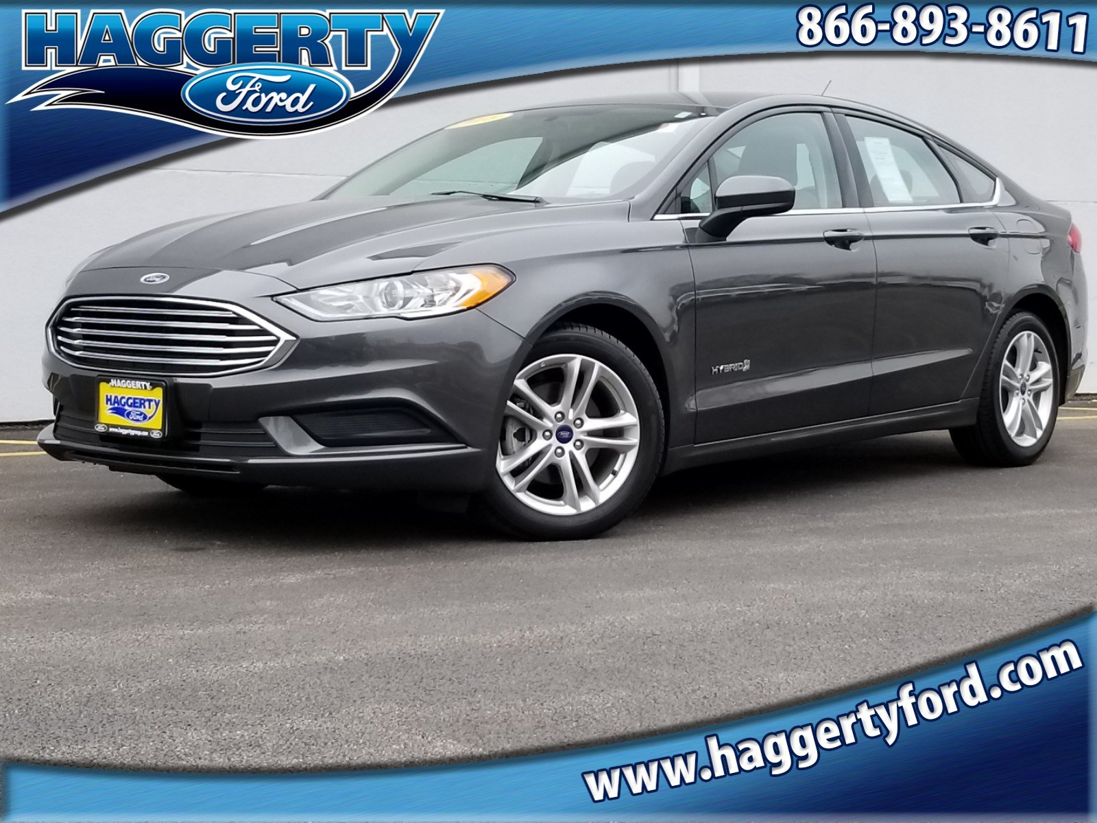 Certified Pre Owned 2018 Ford Fusion Hybrid S
