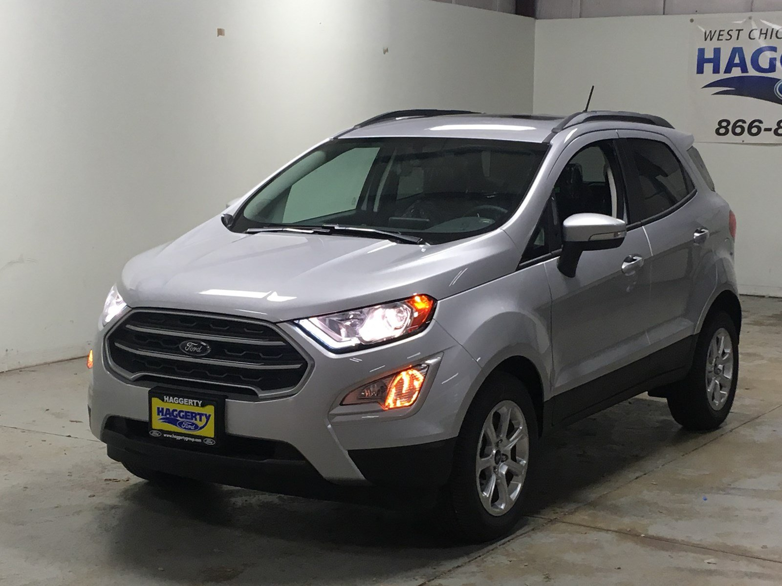 New 2018 Ford EcoSport SE SUV in West Chicago